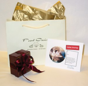 Tahitian Black Pearl Deluxe Gift Packaging